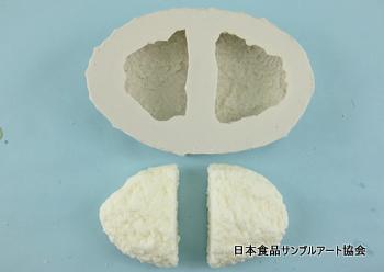 食品サンプルハンバーグの作り方シリコーン型の完成