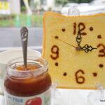 食品サンプルトースト時計の作り方