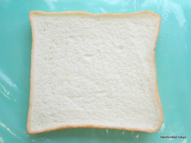 食品サンプルで作った食パン