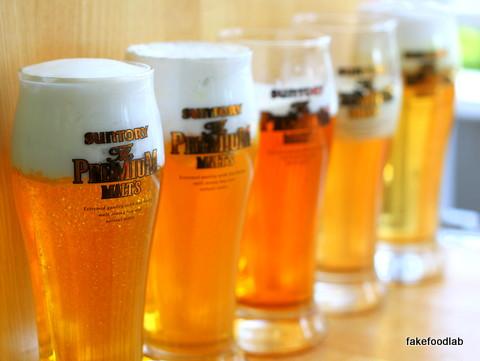 食品サンプル生ビール
