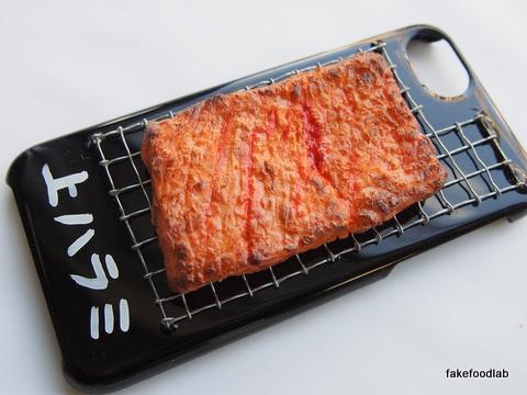 食品サンプル上ハラミ焼き肉スマホケース