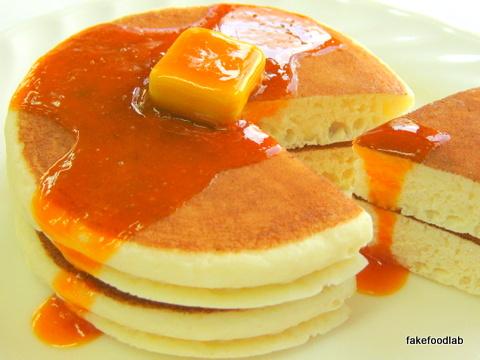 食品サンプルパンケーキ